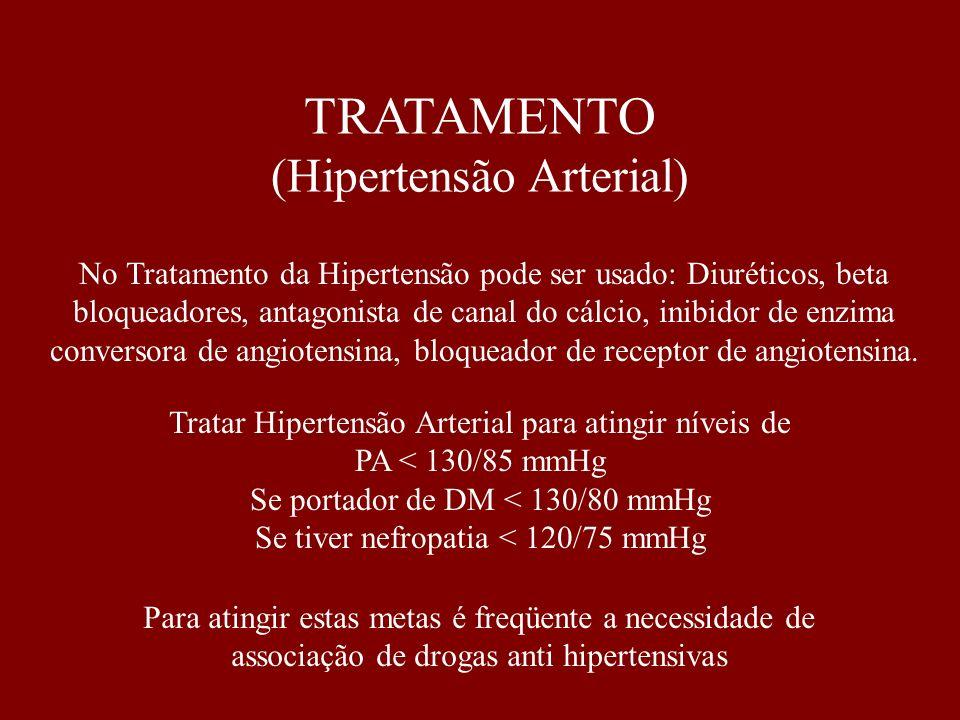 TRATAMENTO (Hipertensão Arterial)