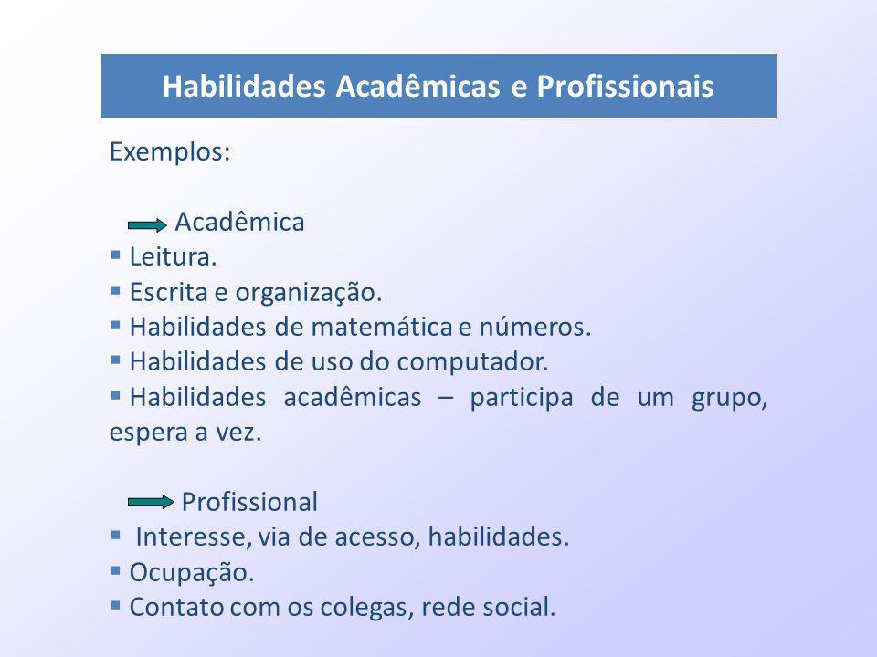 Habilidades Acadêmicas e Profissionais