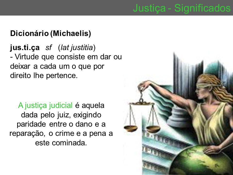 Justiça - Significados