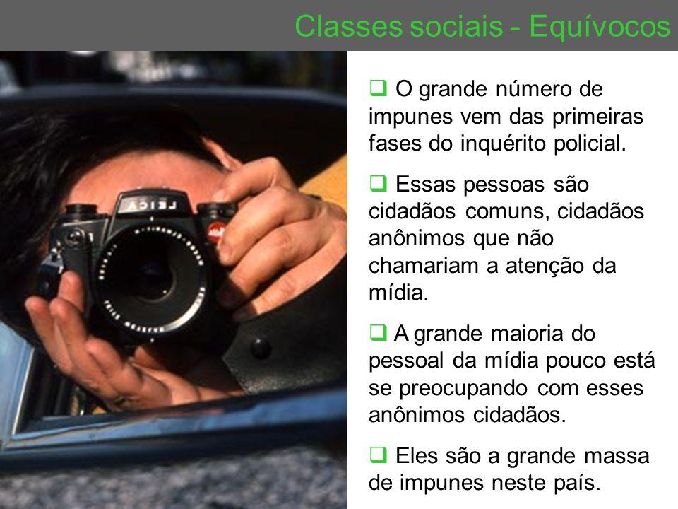 Classes sociais - Equívocos