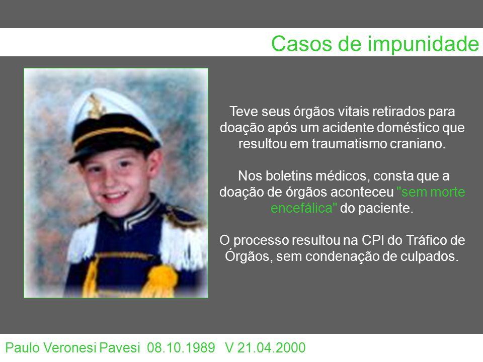 Casos de impunidade