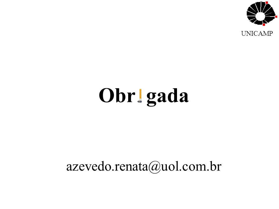 UNICAMP Obr gada azevedo.renata@uol.com.br