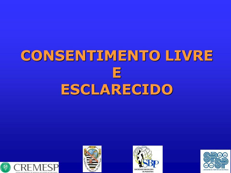 CONSENTIMENTO LIVRE E ESCLARECIDO