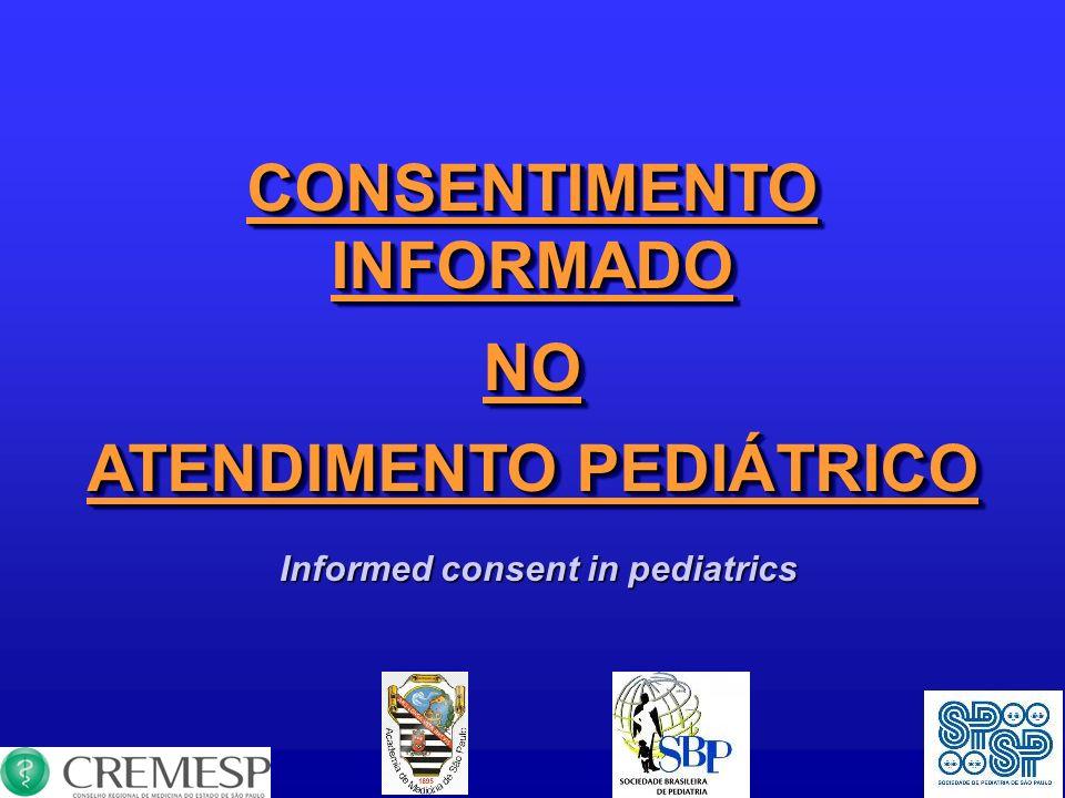 CONSENTIMENTO INFORMADO ATENDIMENTO PEDIÁTRICO