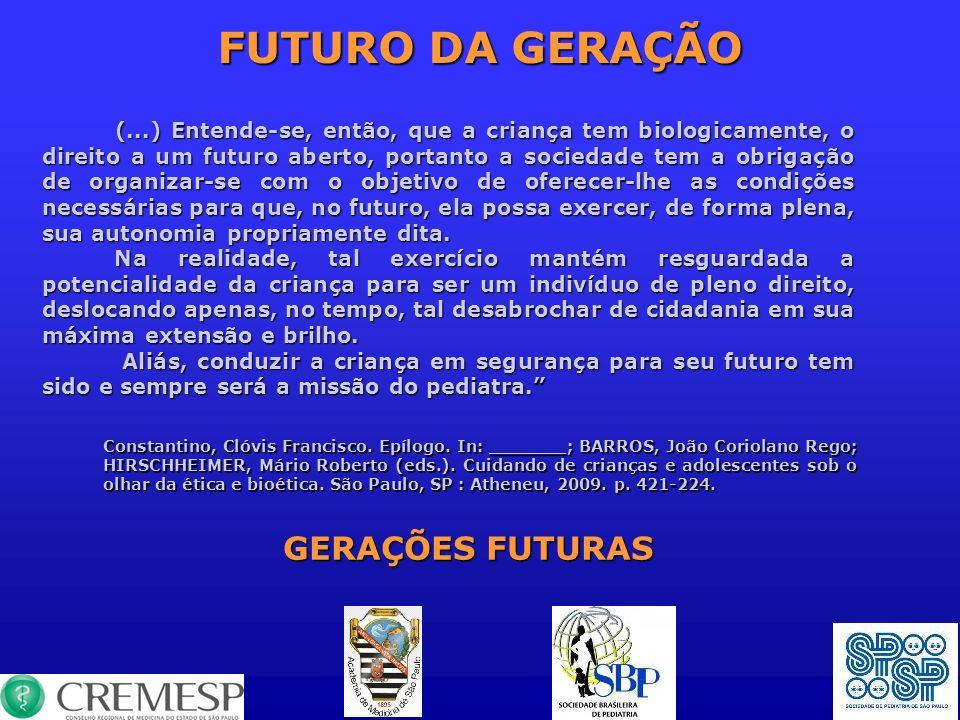 FUTURO DA GERAÇÃO GERAÇÕES FUTURAS