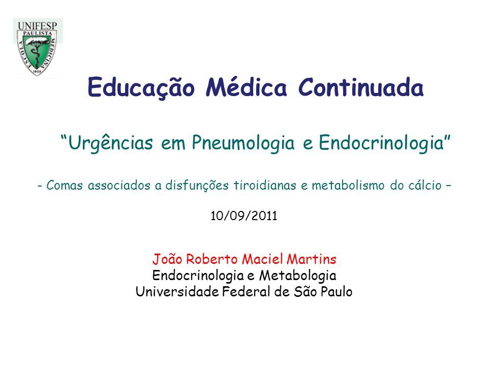 Educação Médica Continuada Urgências em Pneumologia e Endocrinologia
