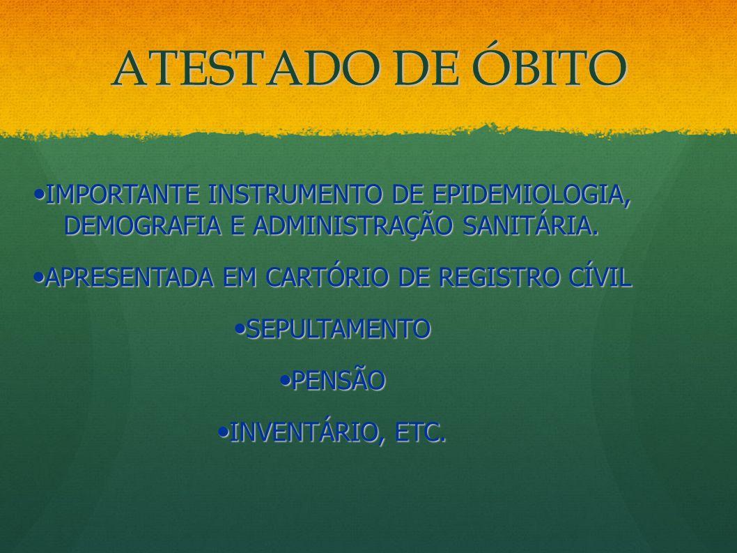 APRESENTADA EM CARTÓRIO DE REGISTRO CÍVIL