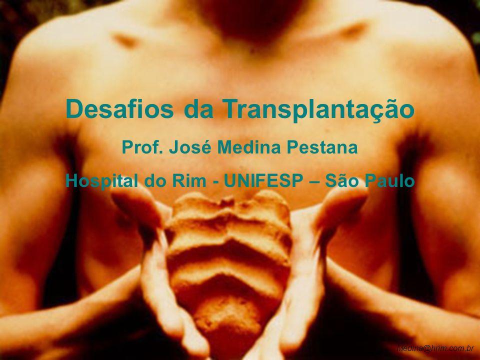 Desafios da Transplantação