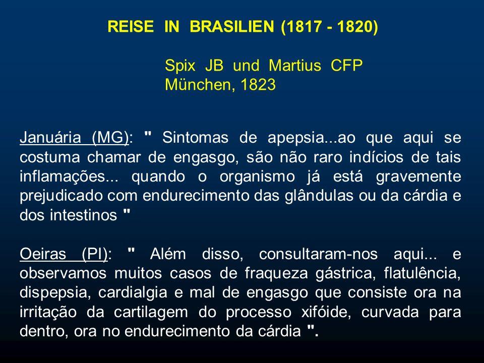 REISE IN BRASILIEN (1817 - 1820) Spix JB und Martius CFP. München, 1823.