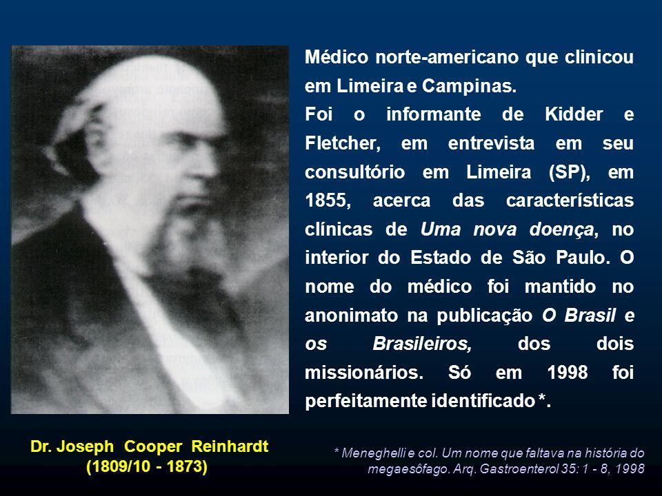 Dr. Joseph Cooper Reinhardt (1809/10 - 1873)
