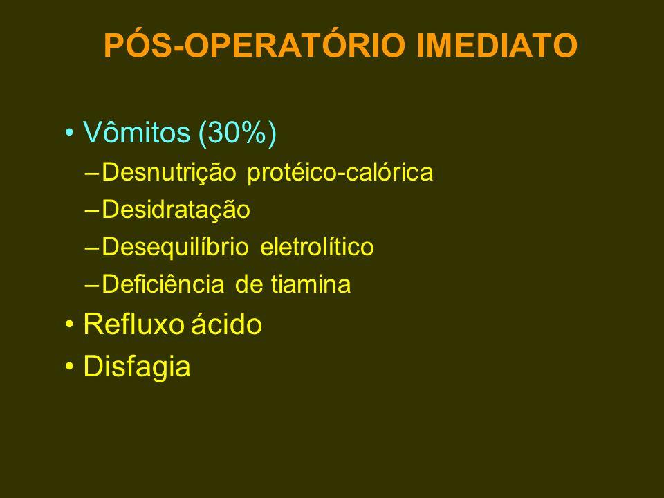 PÓS-OPERATÓRIO IMEDIATO