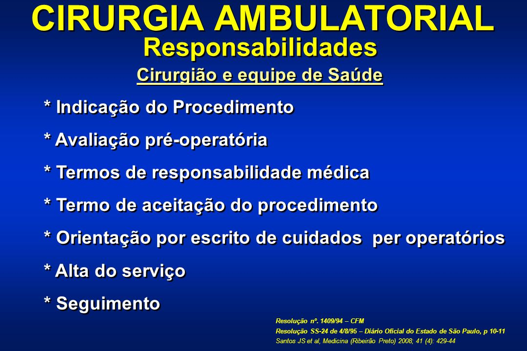 CIRURGIA AMBULATORIAL