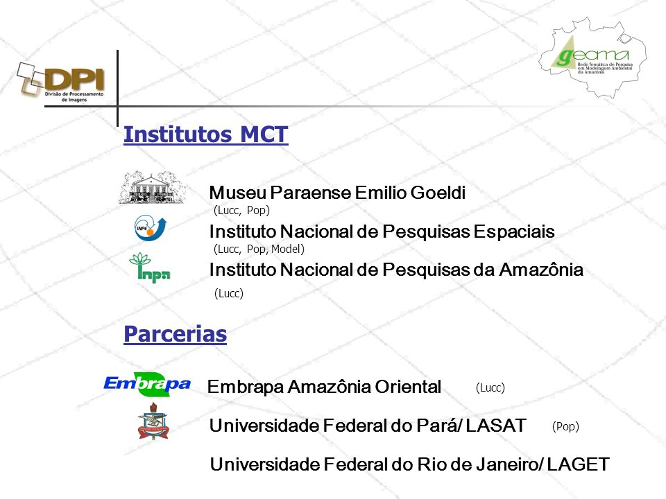 Institutos MCT Parcerias
