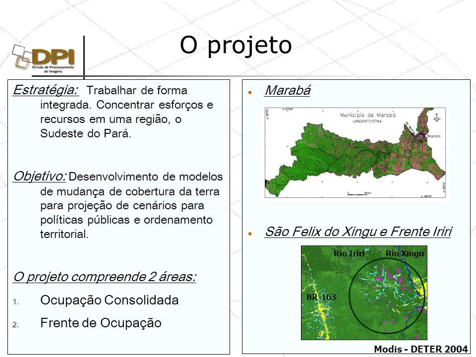O projeto Estratégia: Trabalhar de forma integrada. Concentrar esforços e recursos em uma região, o Sudeste do Pará.