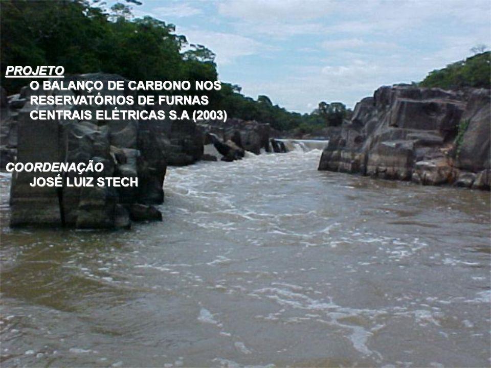 PROJETOO BALANÇO DE CARBONO NOS RESERVATÓRIOS DE FURNAS CENTRAIS ELÉTRICAS S.A (2003) COORDENAÇÃO.