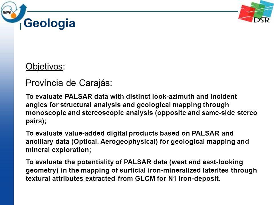 Geologia Objetivos: Província de Carajás: