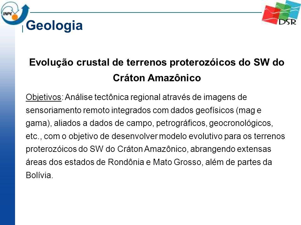 Evolução crustal de terrenos proterozóicos do SW do Cráton Amazônico