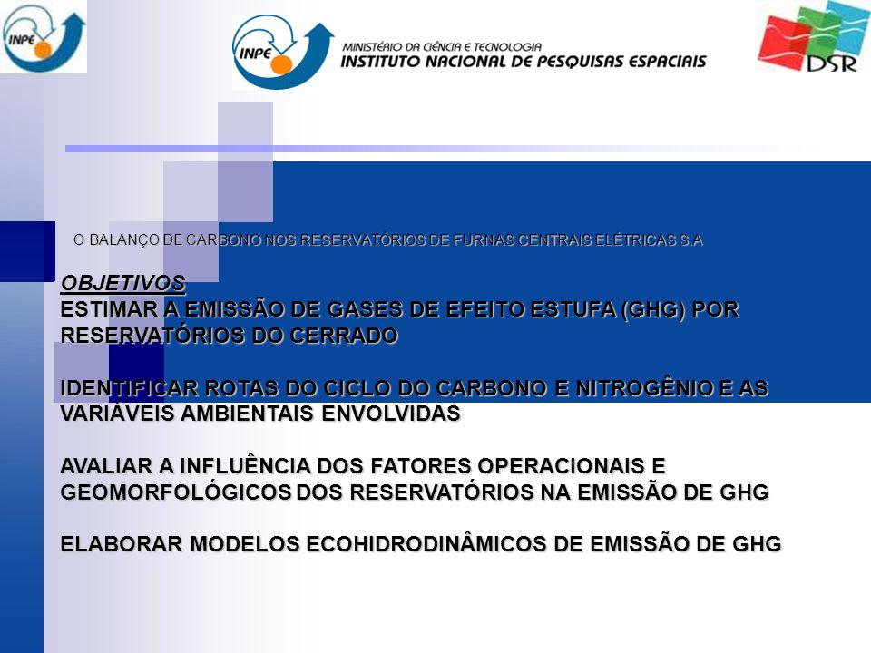O BALANÇO DE CARBONO NOS RESERVATÓRIOS DE FURNAS CENTRAIS ELÉTRICAS S