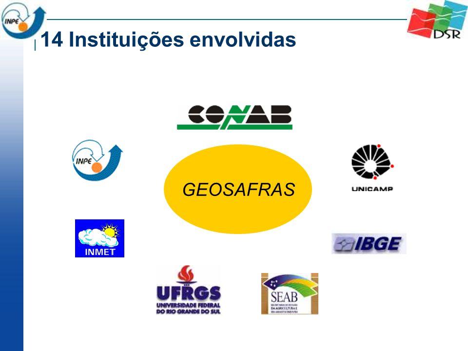 14 Instituições envolvidas