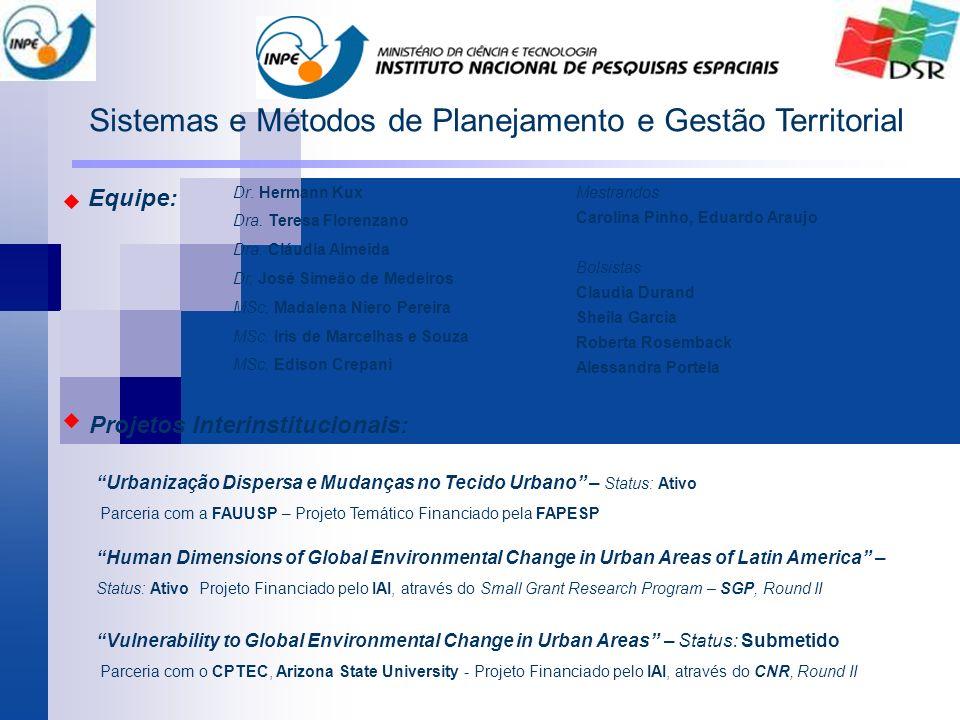 Sistemas e Métodos de Planejamento e Gestão Territorial
