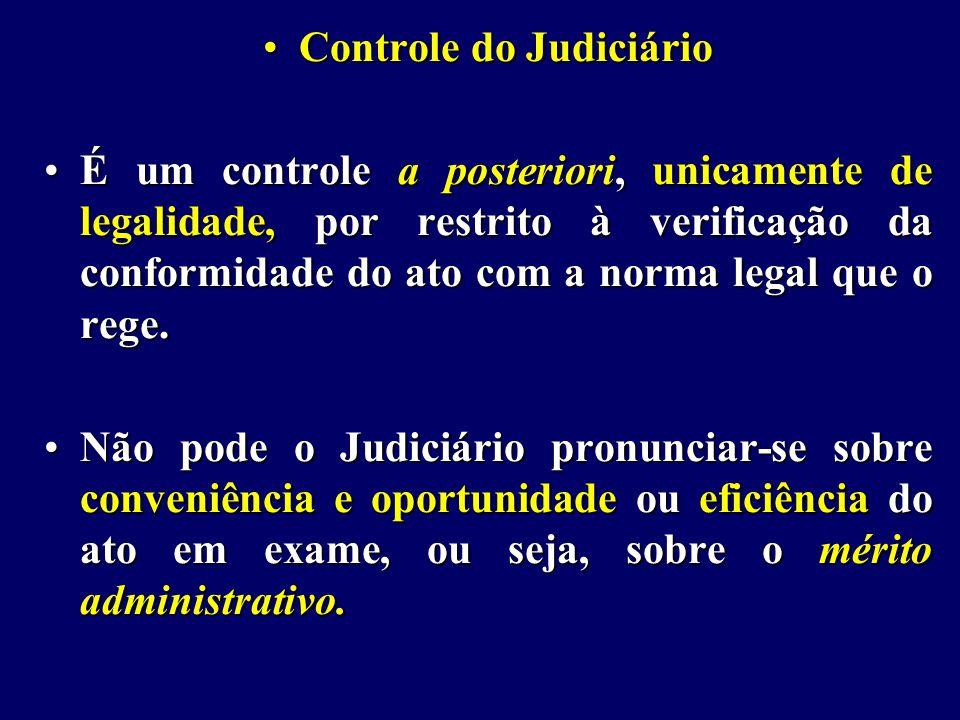 Controle do Judiciário