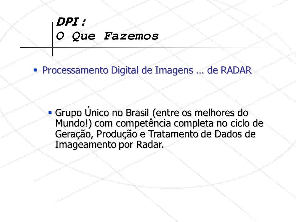 DPI : O Que Fazemos Processamento Digital de Imagens … de RADAR