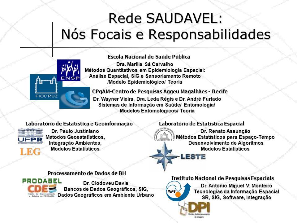 Rede SAUDAVEL: Nós Focais e Responsabilidades