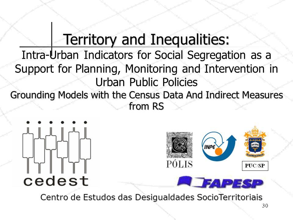 Centro de Estudos das Desigualdades SocioTerritoriais