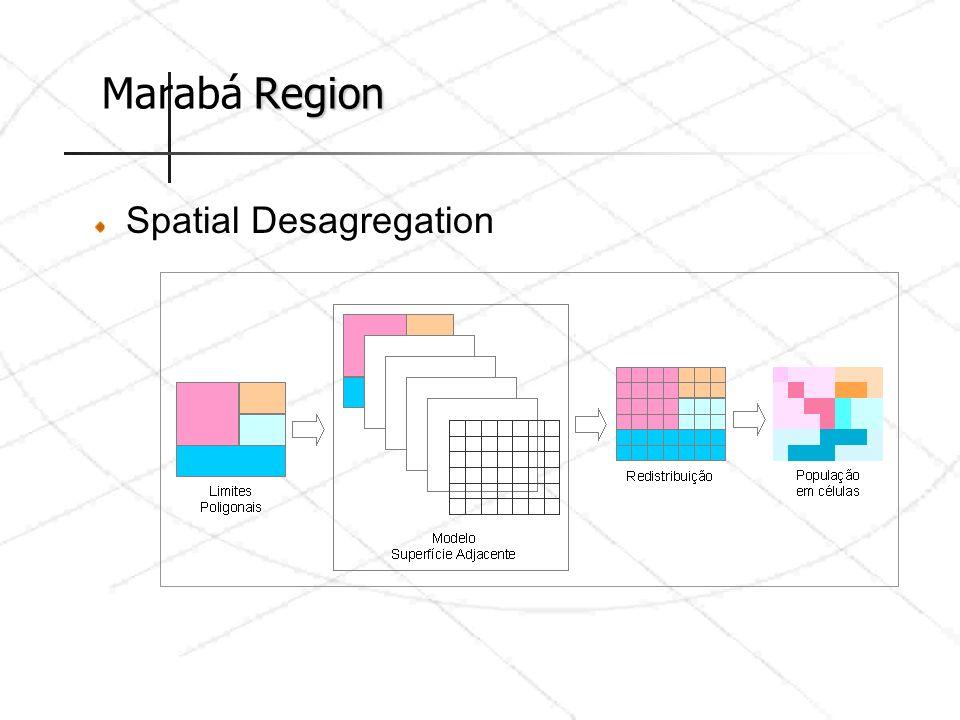 Marabá Region Spatial Desagregation