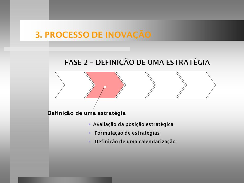 FASE 2 – DEFINIÇÃO DE UMA ESTRATÉGIA