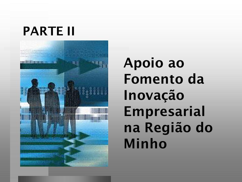 Apoio ao Fomento da Inovação Empresarial na Região do Minho