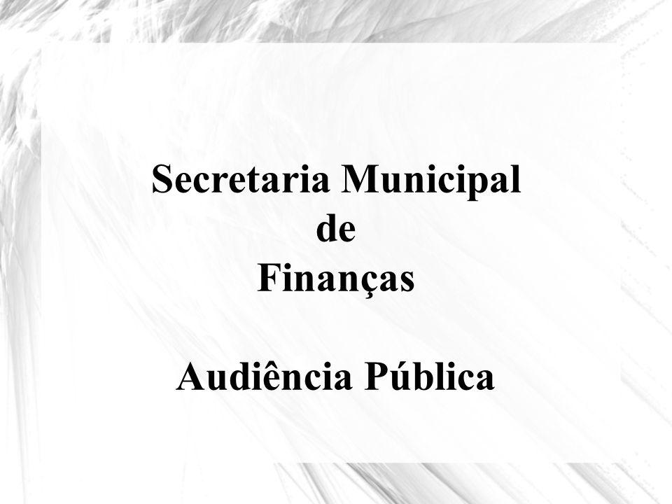 Finanças Audiência Pública