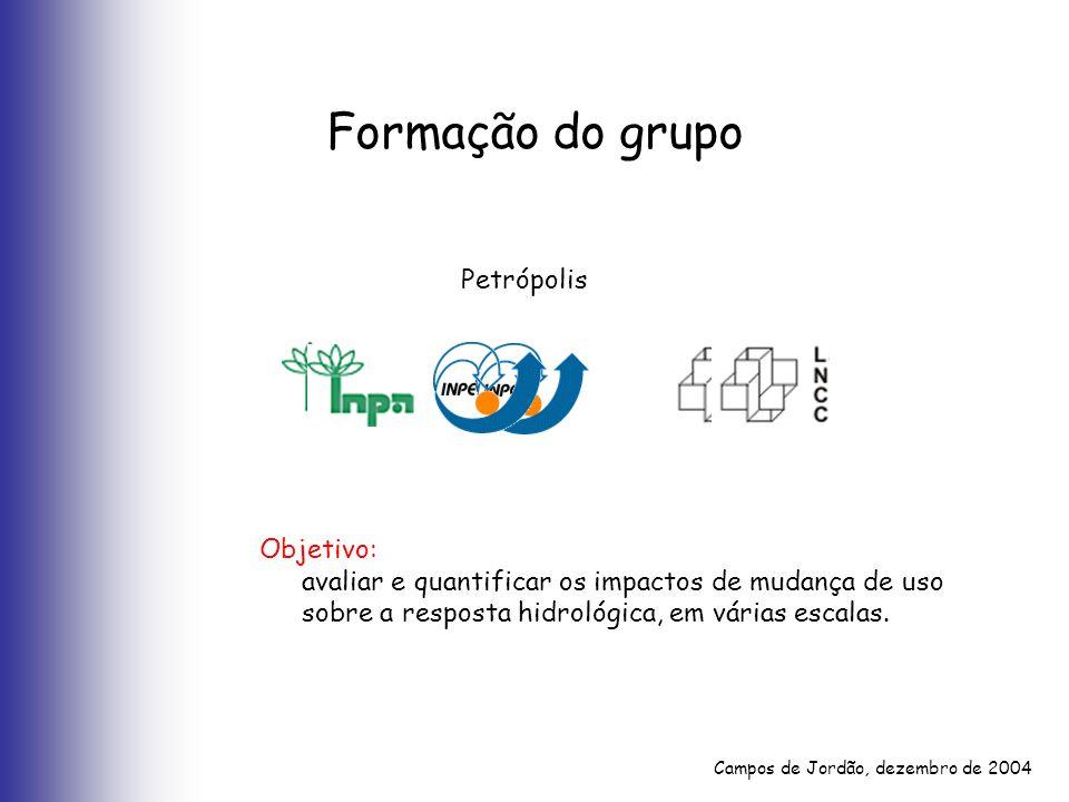 Formação do grupo Petrópolis Objetivo: