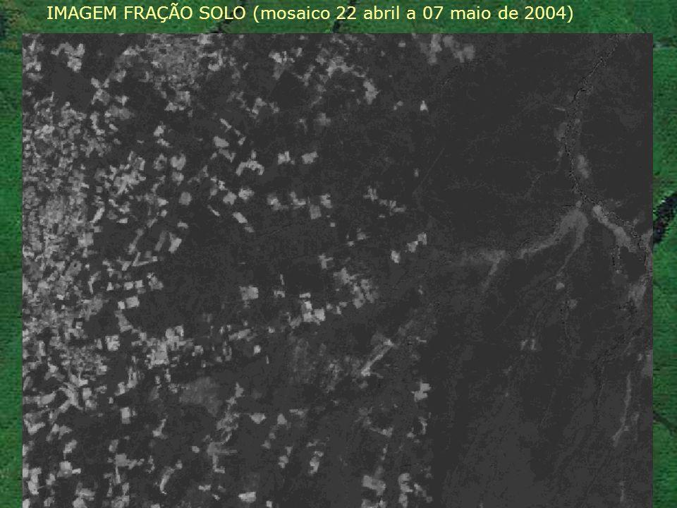 IMAGEM FRAÇÃO SOLO (mosaico 22 abril a 07 maio de 2004)