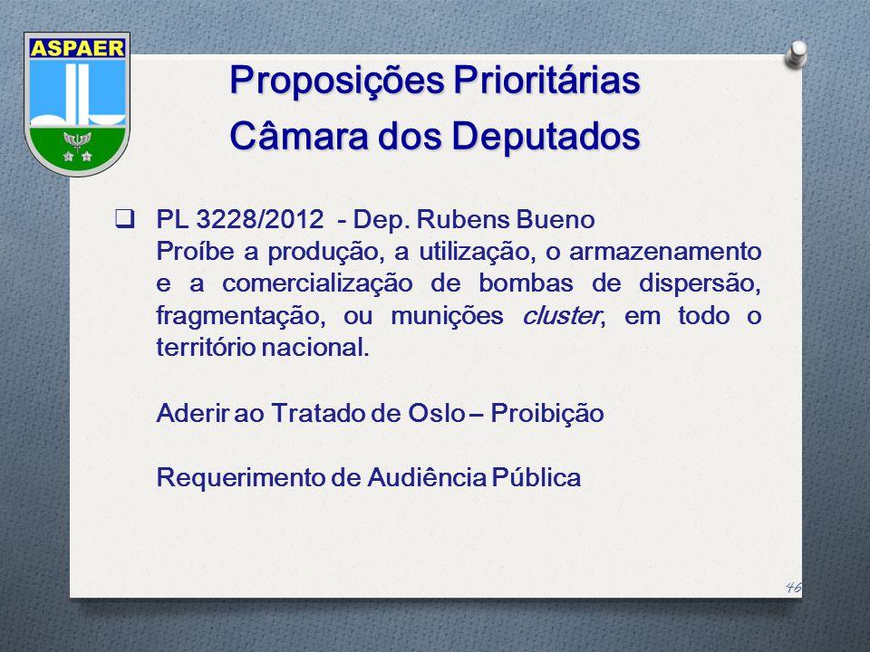 Proposições Prioritárias