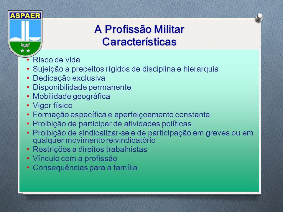 A Profissão Militar Características