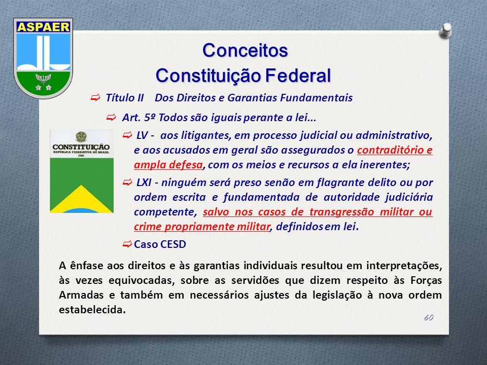 Conceitos Constituição Federal