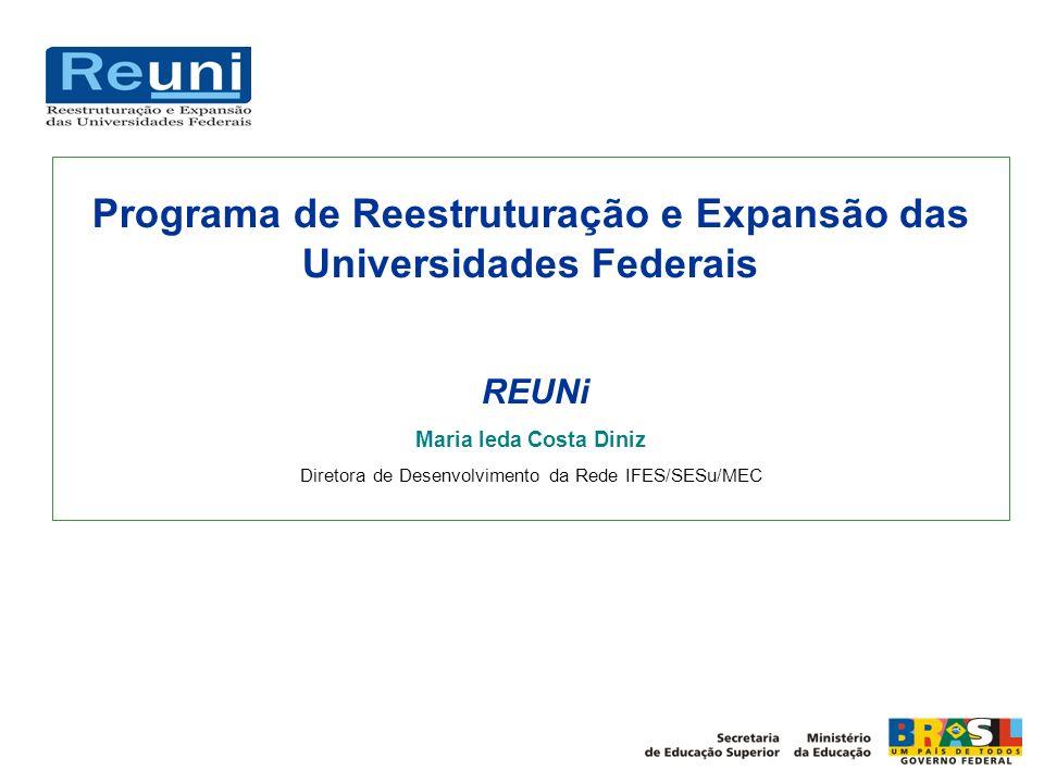 Programa de Reestruturação e Expansão das Universidades Federais