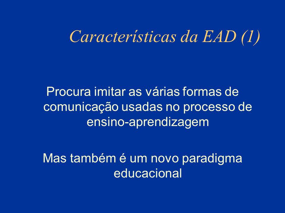 Características da EAD (1)