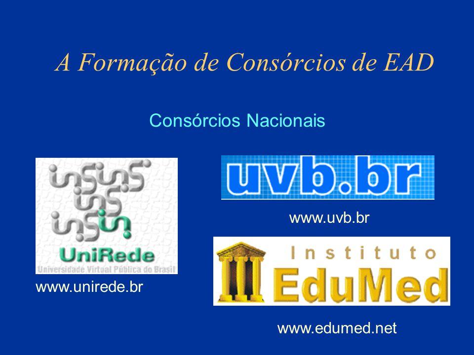 A Formação de Consórcios de EAD