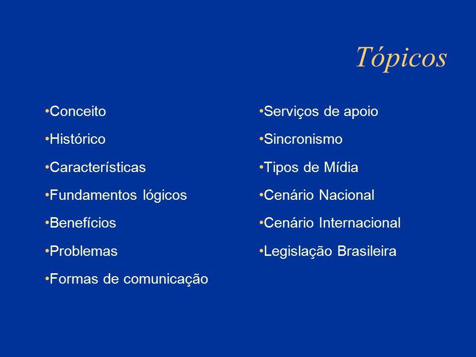 Tópicos Conceito Histórico Características Fundamentos lógicos
