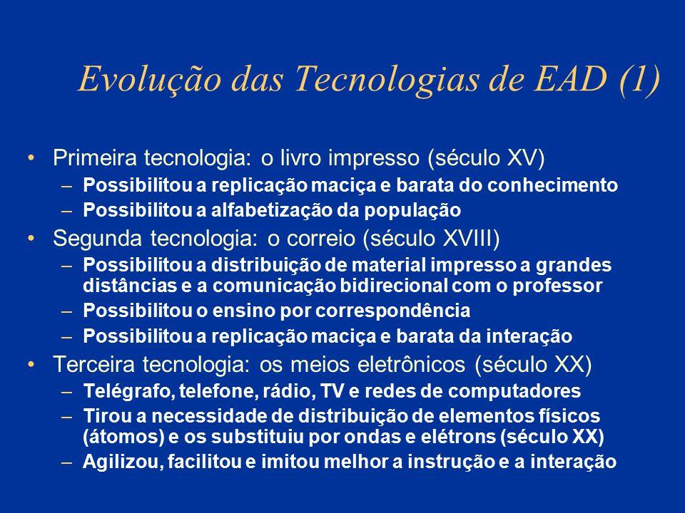 Evolução das Tecnologias de EAD (1)