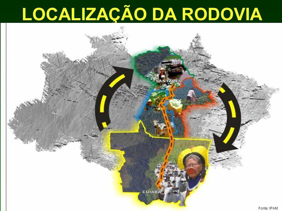 LOCALIZAÇÃO DA RODOVIA