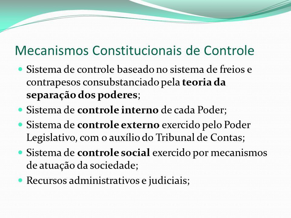 Mecanismos Constitucionais de Controle
