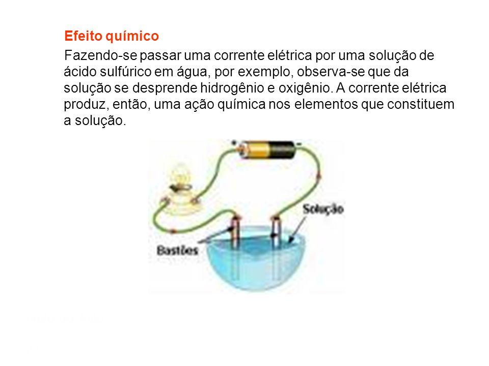 Efeito químico