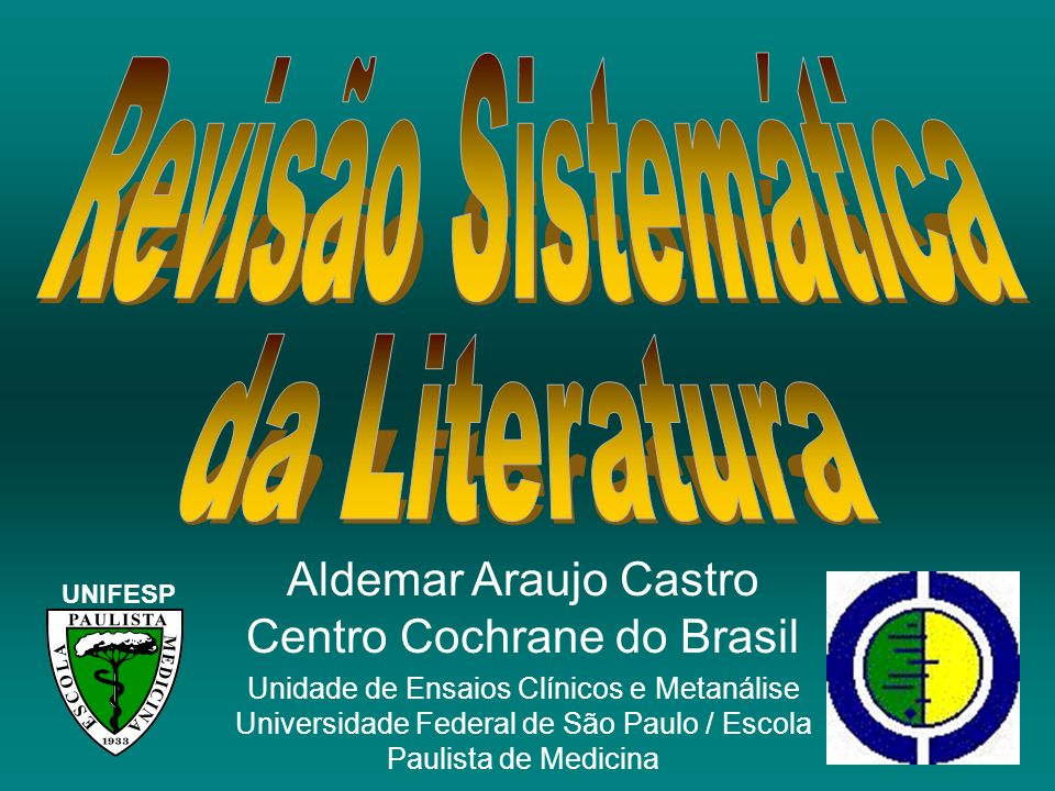 Aldemar Araujo Castro Centro Cochrane do Brasil