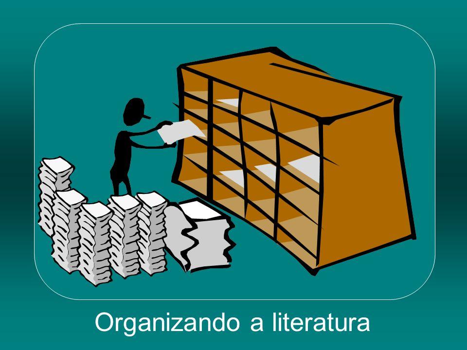 Organizando a literatura