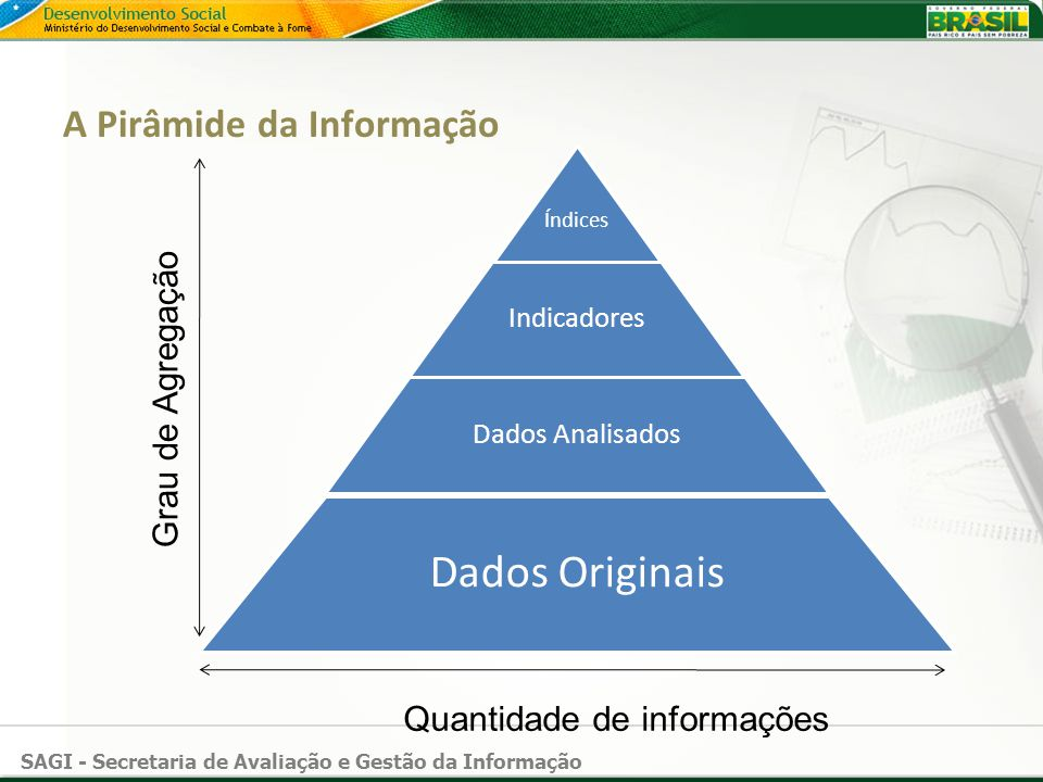 A Pirâmide da Informação