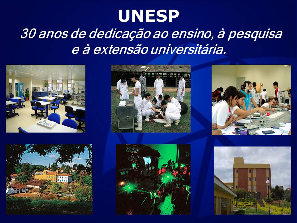 30 anos de dedicação ao ensino, à pesquisa e à extensão universitária.