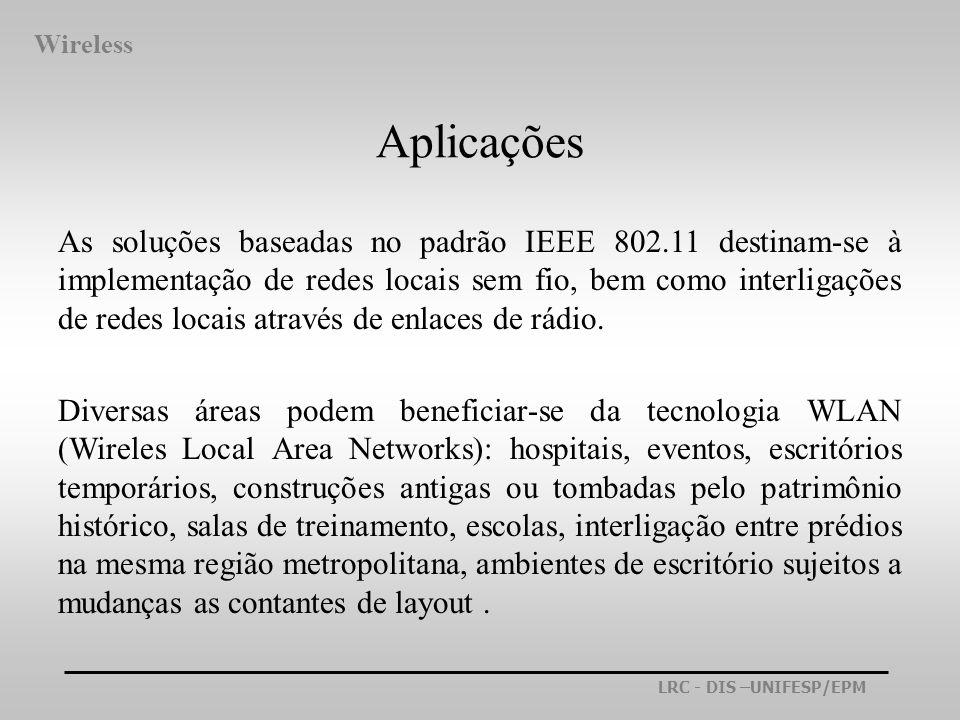 WirelessAplicações.